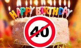10 объяснений, почему люди не отмечают 40 лет